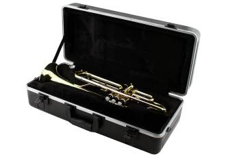 LJ Hutchen Bb Trumpet with Plush-Lined Case
