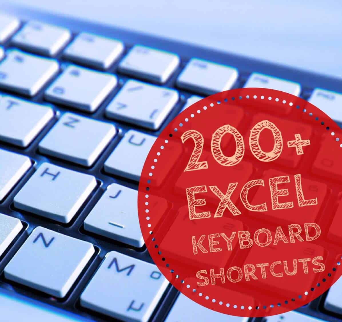 200 Excel Keyboard Shortcuts