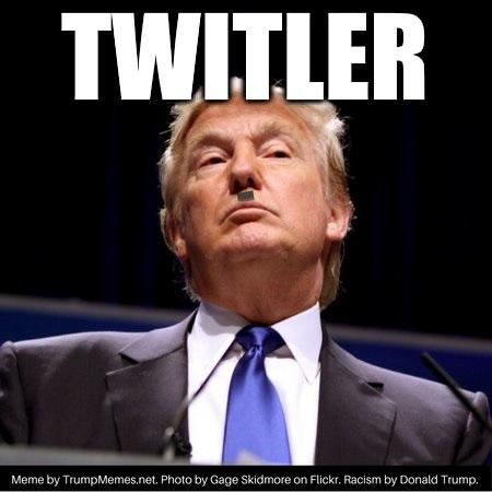Twitler Trump meme