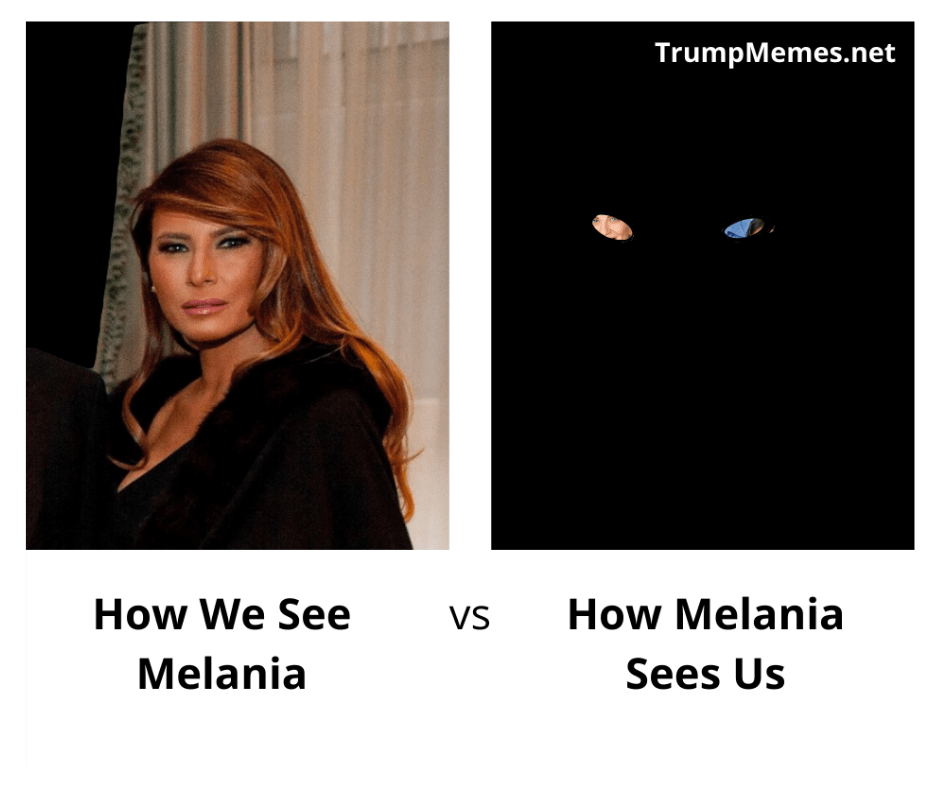 The vision of Melania Trump