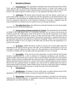 Trump's Post Service Agreement : NDA Page 5