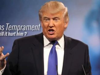 Trump's temperament