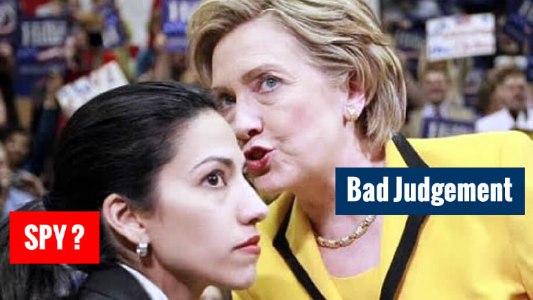 WOW! Huma Abedin Refuses Background Check, Part of Muslim World League!