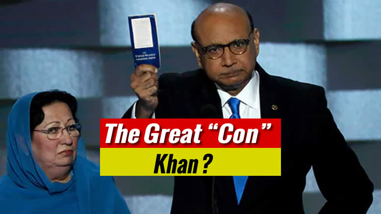 Mr Kahn, pulling a Con. This Is Purely About Money