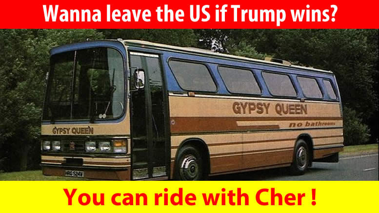 Gypsy's Tramps and Thieves - Who Vow to Leave the U.S. if Trump Wins!