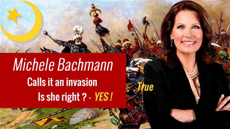 Michele Bachmann Calls Muslim Migration A 'Planned Invasion'