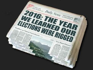 rigged election