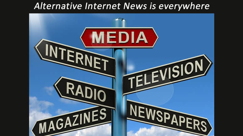 50% of all Americans turn to AIN for their news, Alternative Internet News