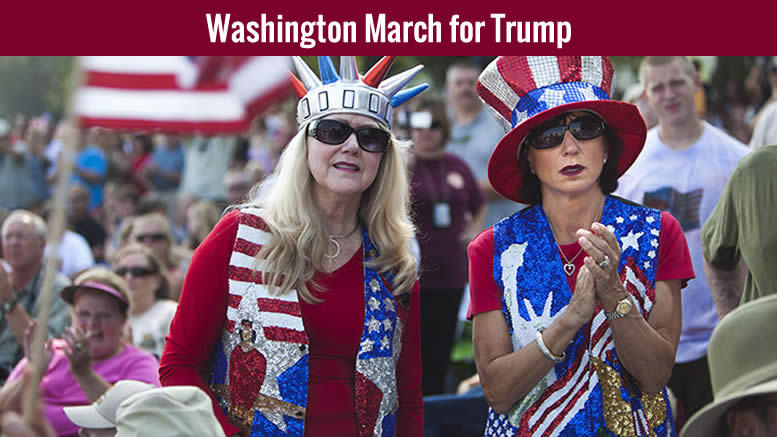 March 4 Trump! Washington, DC on Saturday on March 4, 2017 - updated