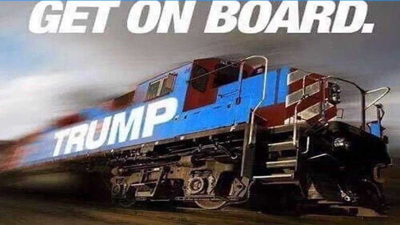 Trump Train is Rolling