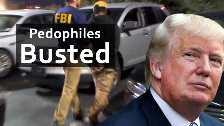 MSM Ignoring Trump's Mass Pedophile Arrests! More arrests to come!
