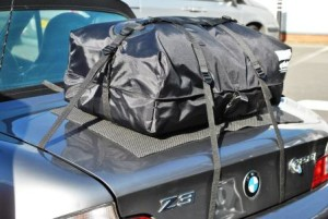 BMW car luggage rack
