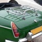 classic car luggage rack