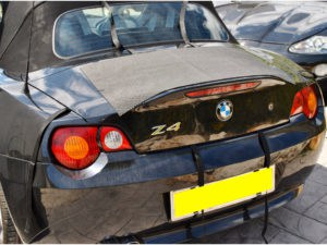 Bmw Z4 Luggage Rack Fitting Stage 2