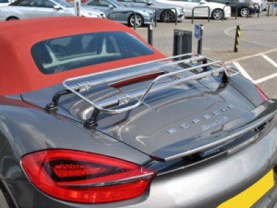 porsche boxster trunk rack stainless steel
