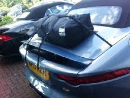 jaguar f type convertible luggage rack
