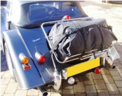 Morgan Sports Car Luggage Rack