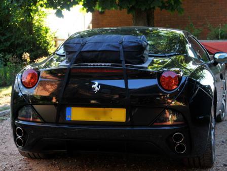 Ferrari California luggage rack boot-bag