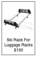 convertible ski rack
