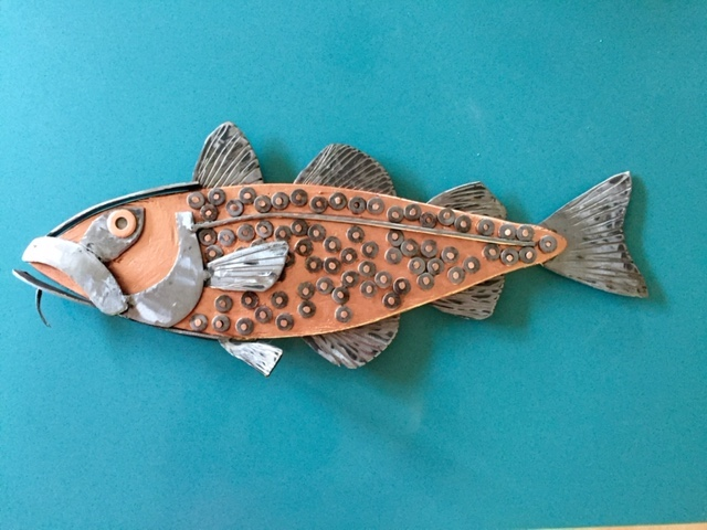 Silent Auction – Fish becomes Art