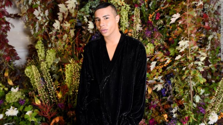 This is my reality ! Balmain director Olivier Rousteing reveals he was badly ...