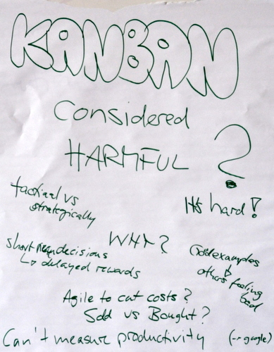 Kanban Considered Harmful? turned into Quality of Life