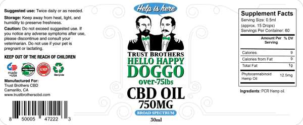 trust brothers cbd, dog cbd