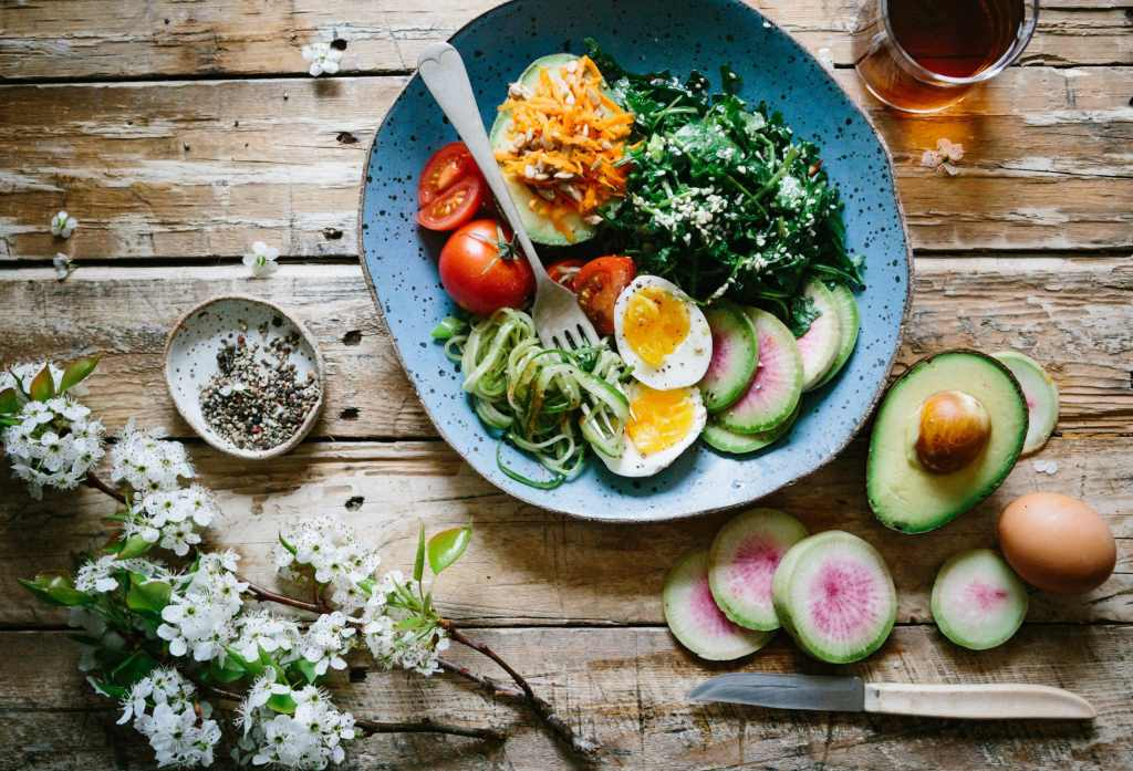 Salad Nutrition, Nutritious Salad