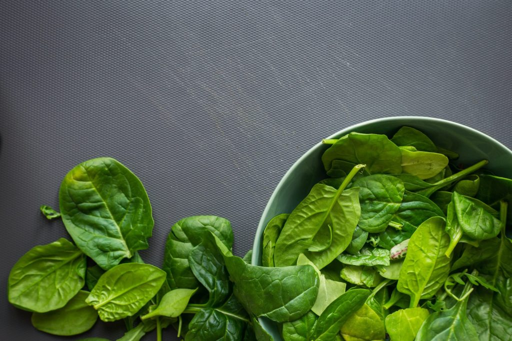 spinach for digestive health