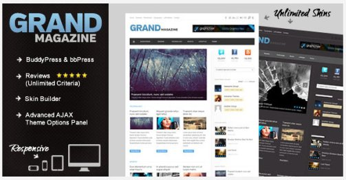 Grandmag premium wordpress theme