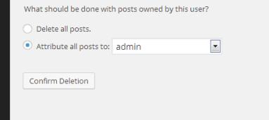 default username in WordPress