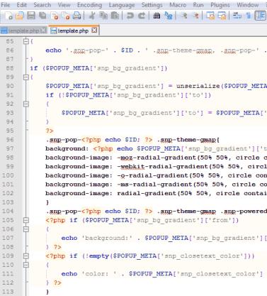 edit file code