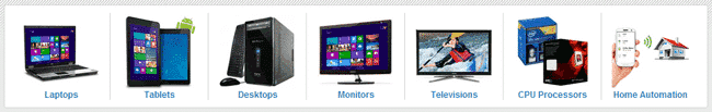 Laptops and TV affiliate program