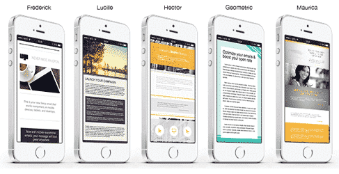 mobile email themes