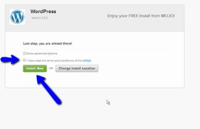Blog installation options