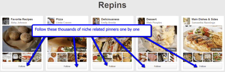 More Pinterest Followers
