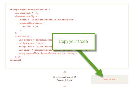 Shorte code