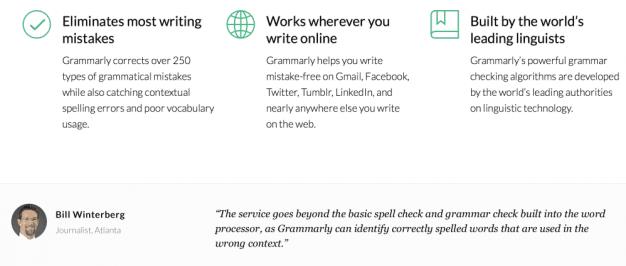 Grammar software