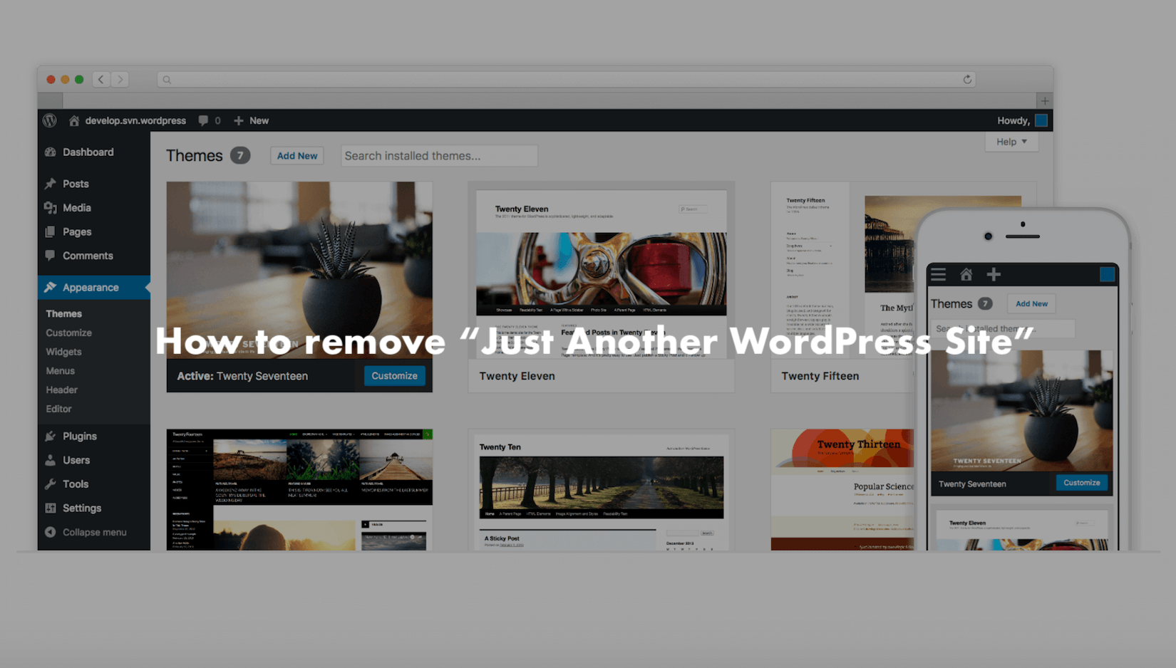 Just Another Wordpress