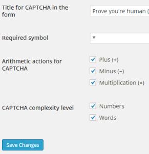 security Captcha