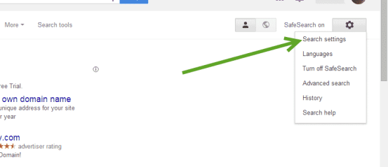 How to Open Google Links in New Tab