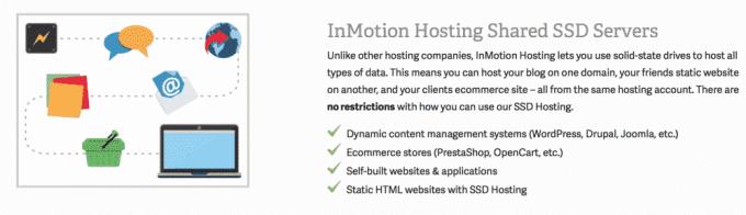 Inmotion Hosting SSD