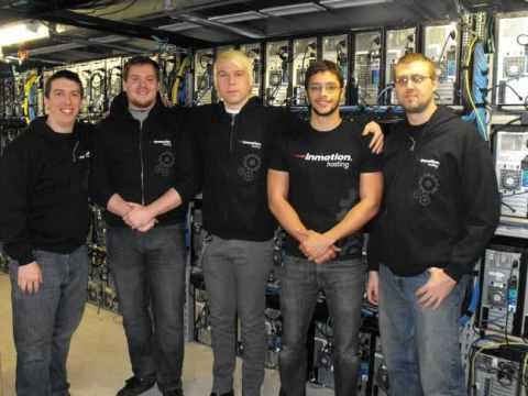 InmotionHosting data center Team
