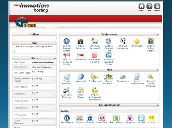 Cheap cPanel hosting
