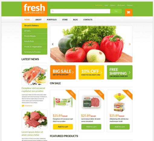 Grocery Web Shop