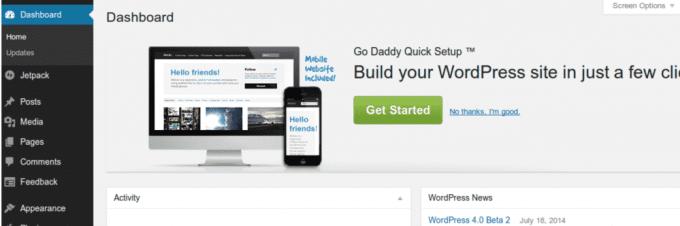 GoDaddy WordPress hosting Review