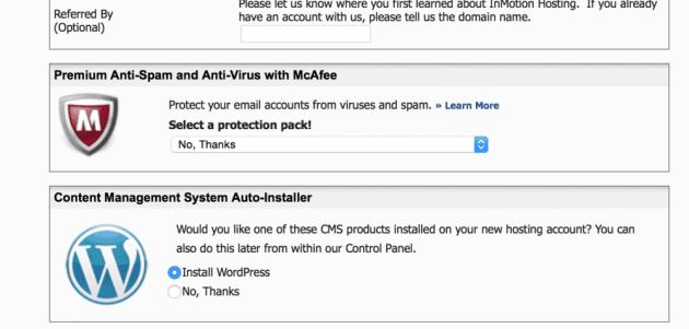 Inmotion Hosting vs iPage