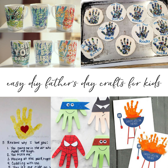 Easy Diy Father S Day Crafts For Kids Trusting Connections