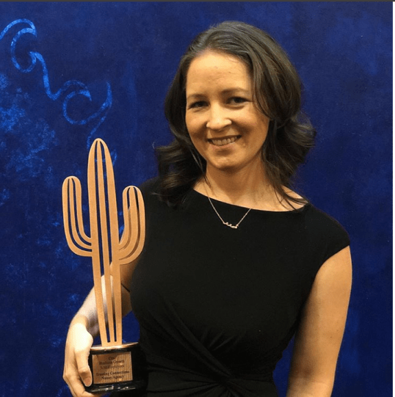 Trusting Connections Award-winning nanny agency Co-Founder Caroline - Copper Cactus Awards