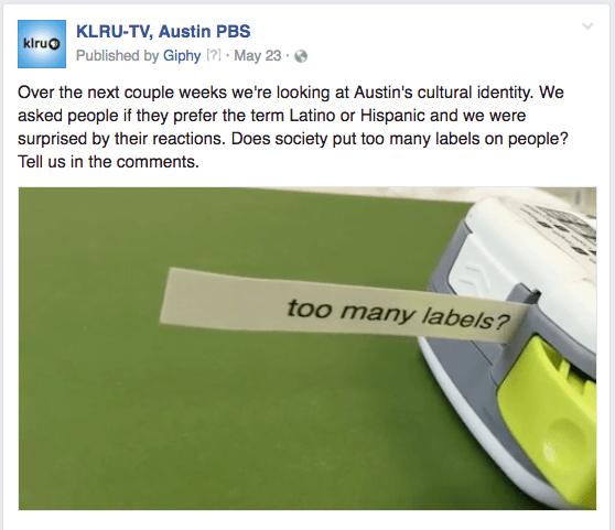KLRU labels
